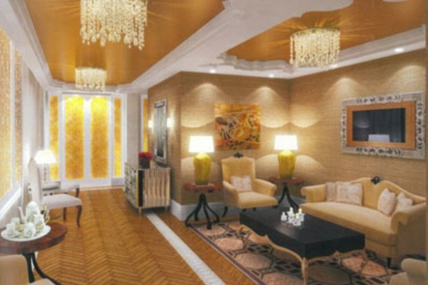 Luxurious Lounge in Antilia