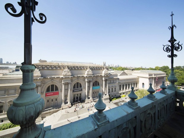 Carlos Slim House Terrace view of the Met are part of the magic
