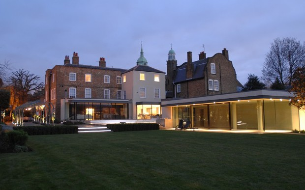 Clarence House At Night