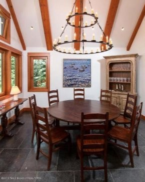 Christy Walton Home Dining Room