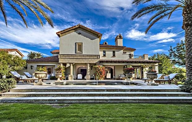 Sylvester Stallone Desert Villa