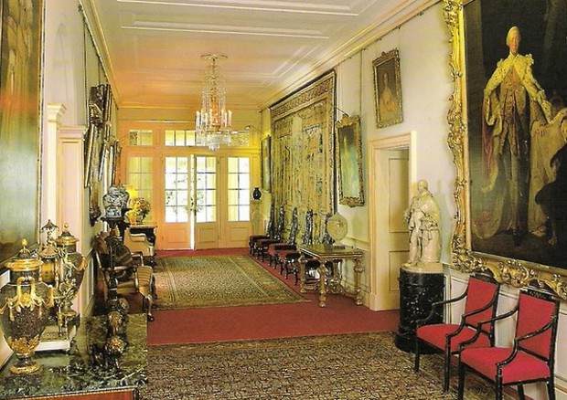 Hall Inside of Clarence House