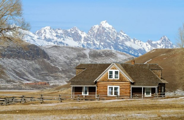 Harrison Ford Jackson Wyoming Ranch House