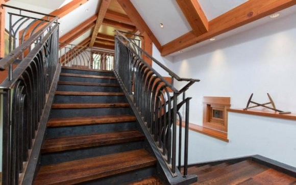 Stairs Inside House Of Christy Walton