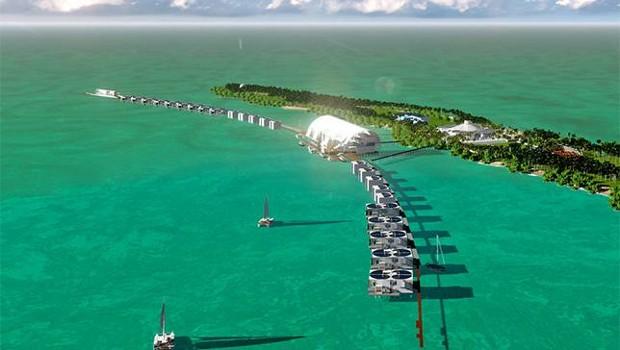 Leonardo DiCaprio Island Blackadore Caye