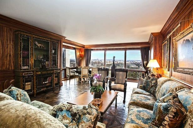 Ronaldo's Living Room in Trump Tower Apartment