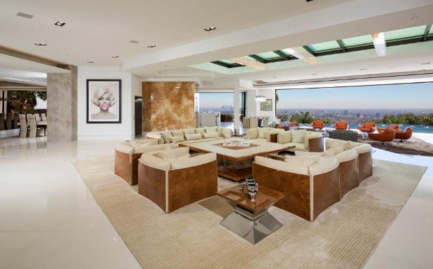 Living Room in Beverly Hills