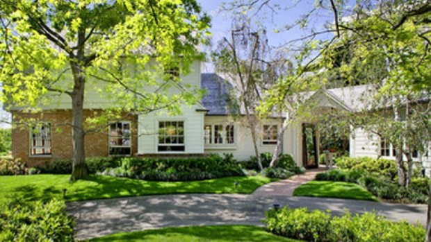 Harrison Ford's Gerard Colcord House in Brentwood