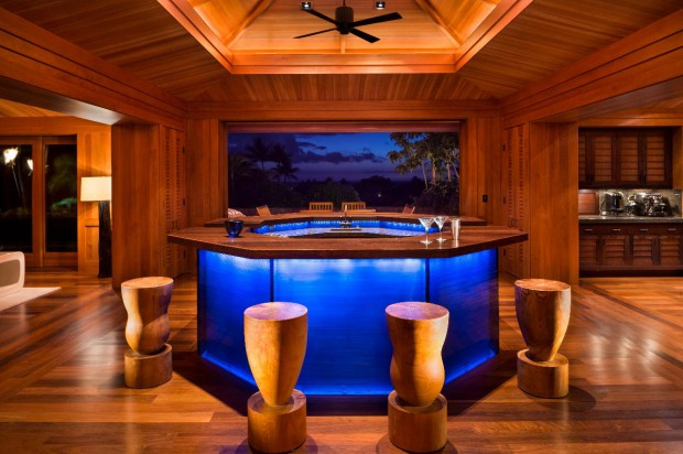 Beautiful Bar inside the house