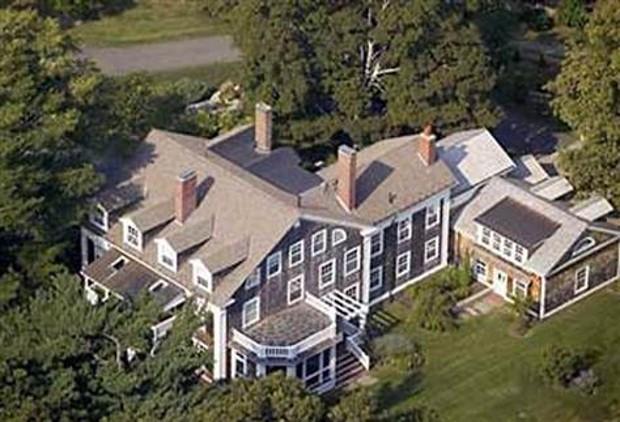 Abigail Johnson Estate is located in Milton, Mass