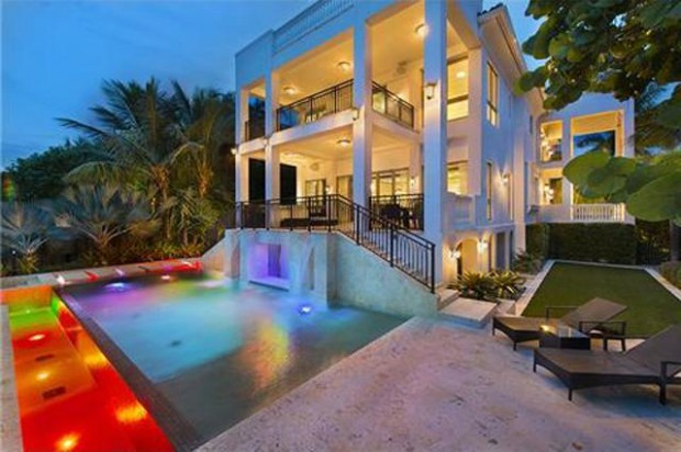 LeBron James Miami mansion