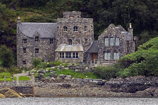 Cameron Mackintosh's House on the shore of Loch Nevis