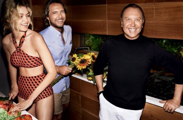 Michael Kors in His Beach House Kitchen