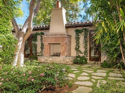 Outside of Phil Mickelson's House