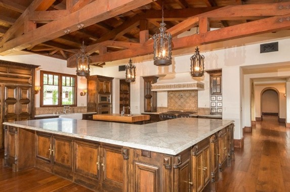 Inside the house Phil Mikelson's house in California