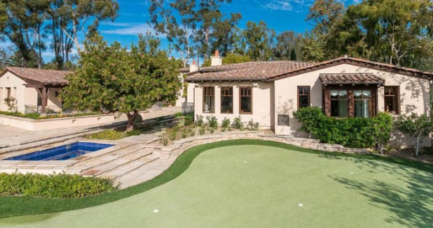 Golf course in the house