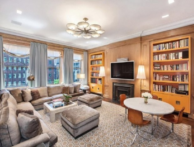 Living room in his New York's House