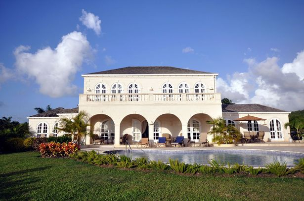 Rooney's House in Barbados