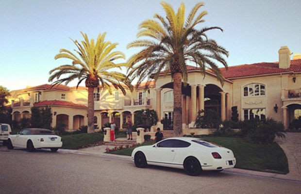 Tyga's House in California