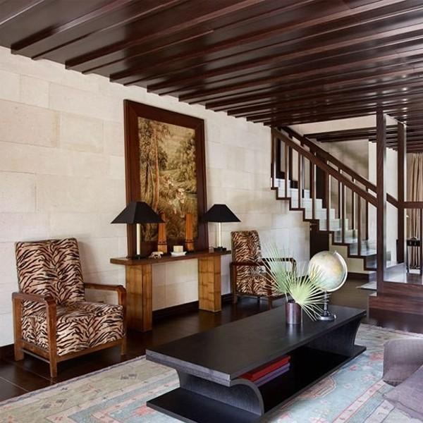Inside of Saint Moritz Mansion