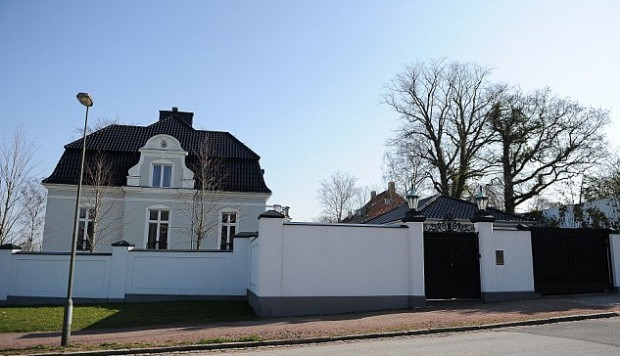 Zlatan Ibrahimovic house in Malmo