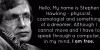 Stephen Hawking's Story