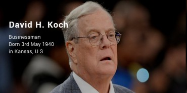 David H. Koch Success Story