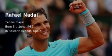 Rafael Nadal Success Story