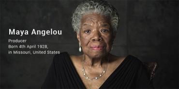 Maya Angelou Success Story