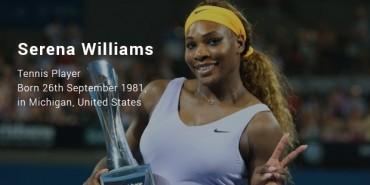 Serena Jameka Williams Story