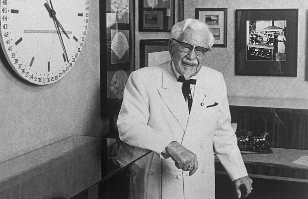 Colonel Sanders in 1978