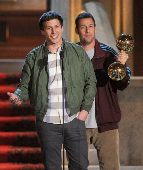 Adam Sandler and Andy Samberg