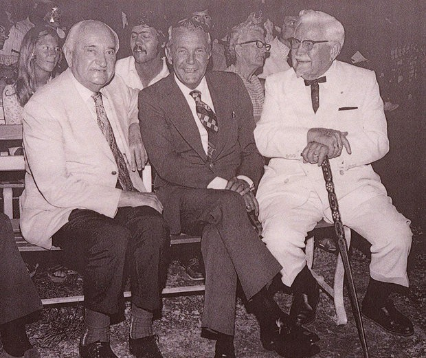 Adolph Rupp, Wendell Ford and Colonel Sanders
