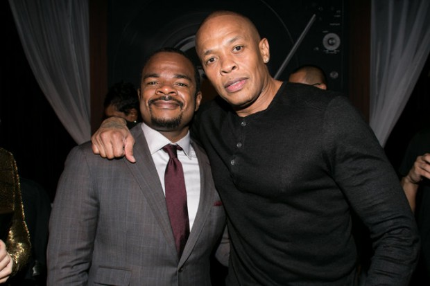 Andre Young with F. Gary Gray in Los Angeles for the Film's Premiere