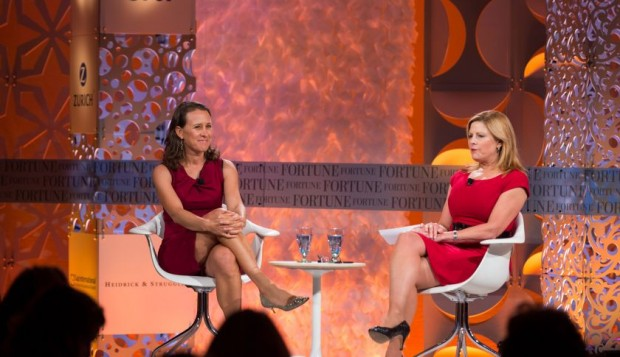 Anne Wojcicki and Nina Easton on a Health Care Issue