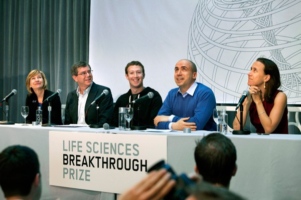 Anne Wojcicki at Breakthrough Prize LAunch