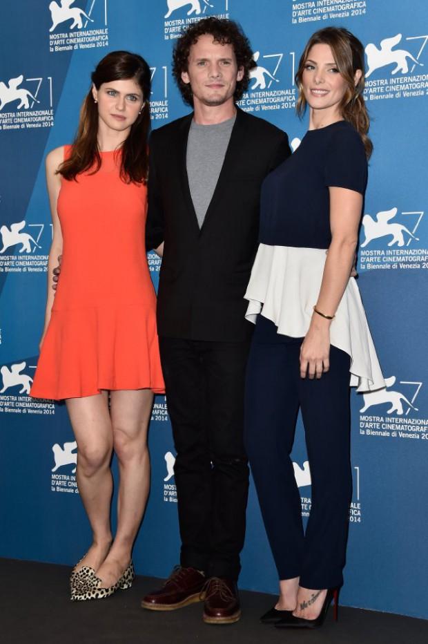 Anton Yelchin, Alexandra Daddario, and Ashley Greene at Burying the Ex