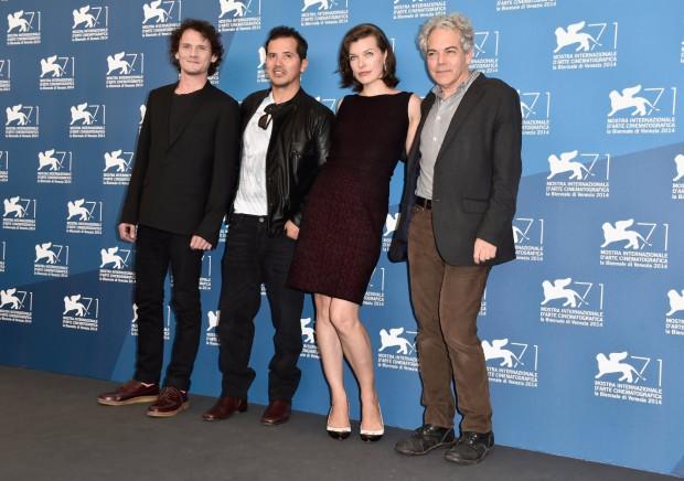 Milla Jovovich, John Leguizamo, Michael Almereyda, and Anton Yelchin at Cymbeline