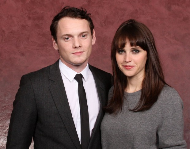 Felicity Jones and Anton Yelchin