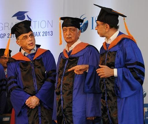 Azim Premji with Adi Godrej