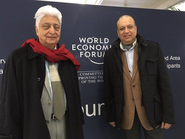 Azim Premji at World Economic Forum