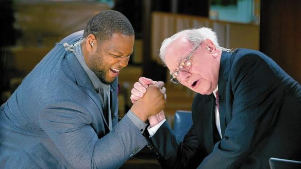Ndamukong Suh with Warren Buffett