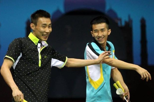 Lee Chong Wei with Liew Daren