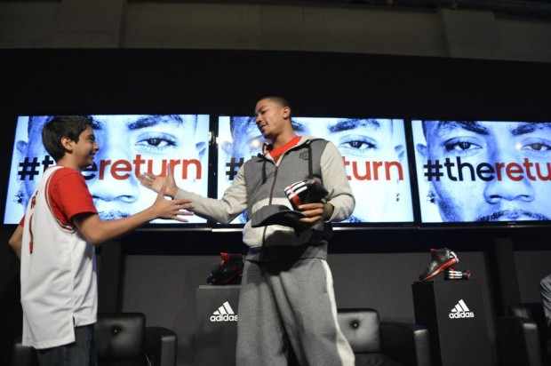 D Rose at Signature Collection Launch Event