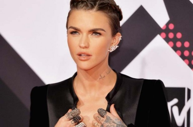 Ruby Rose at the MTV EMAs