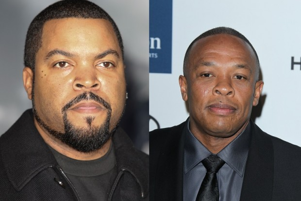 Dr Dre Young with Ice Cube