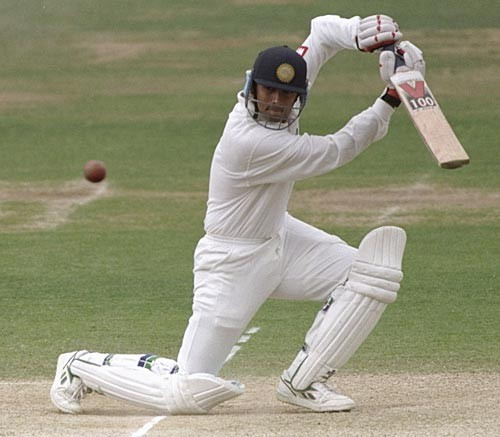 Rahul Dravid in His Debut Match