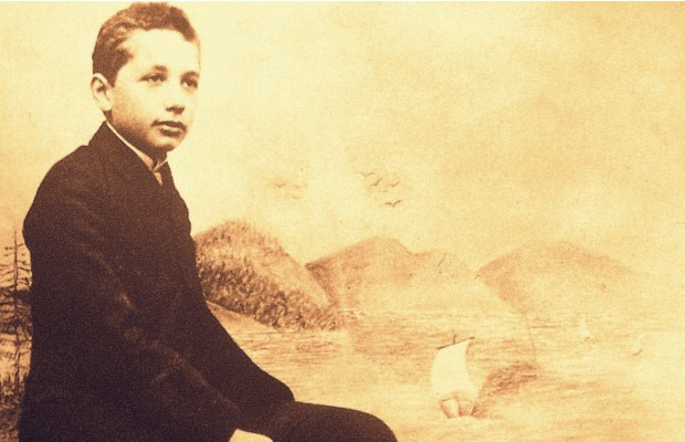 Albert Einstein in his childhood