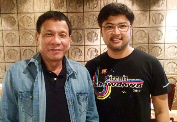 Rody with Enzo Pastor