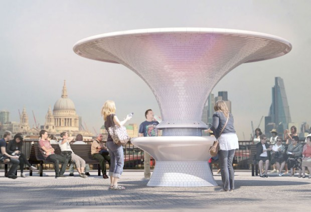 Fancy Water Fountains in London